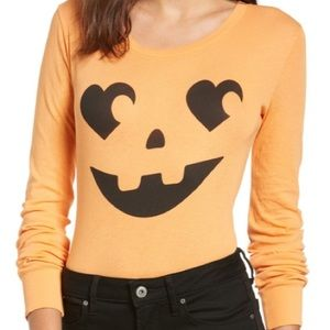 Wildfox bodysuit pumpkin 🎃